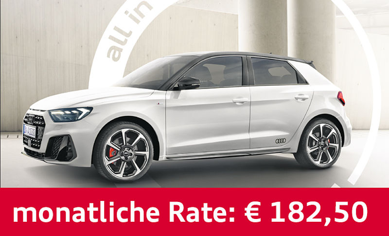 Audi A1 Sportback all-in-one