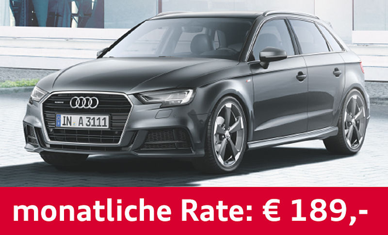 Audi A3 Sportback Privatleasing