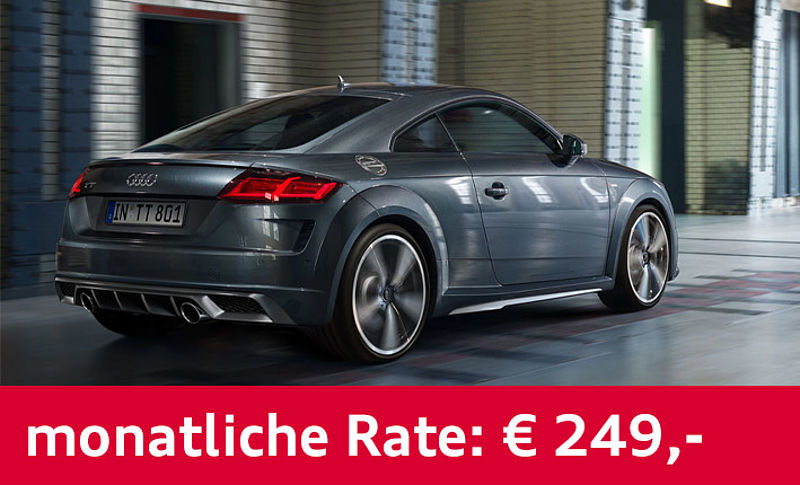 Audi TT Coupe 249€ Businessleasing