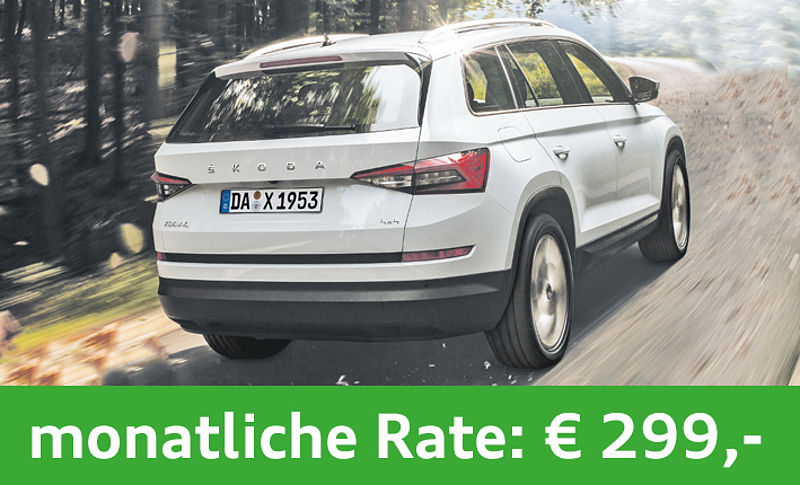 SKODA Kodiaq Privatleasing