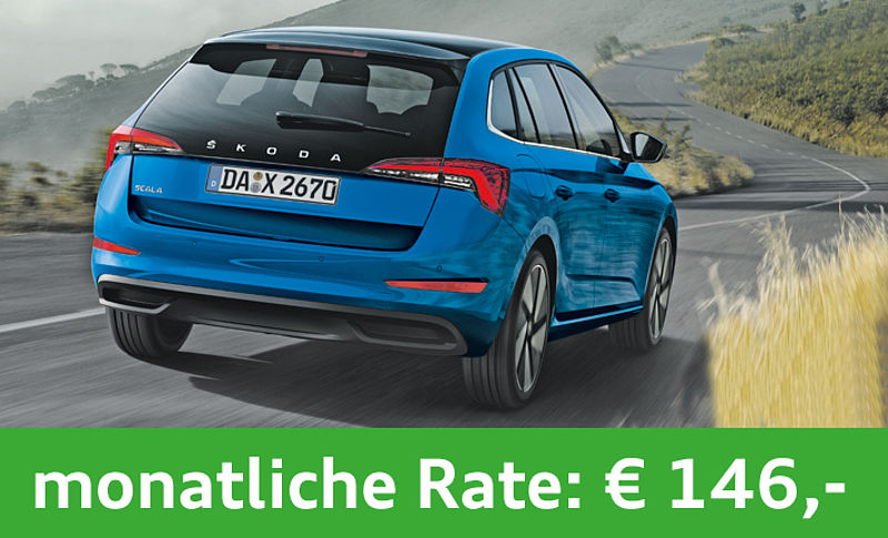 SKODA Scala Cool Plus Privatleasing