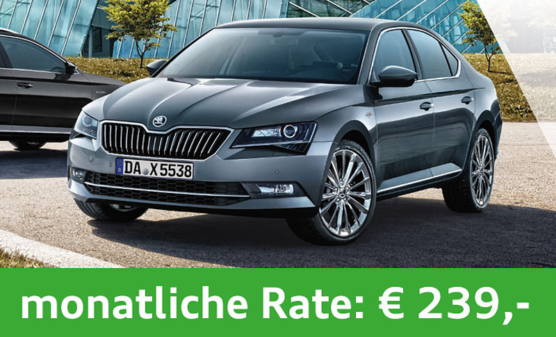 SKODA Superb Combi Businessleasing