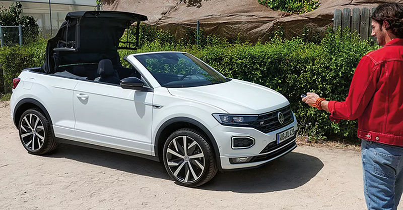 VW T-Roc Cabriolet R-Line 1,5 l TSI OPF 165€ Businessleasing